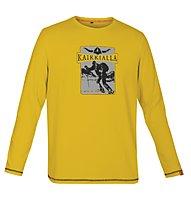 Kaikkialla Niklas L/S Shirt Men, Golden Rod