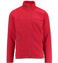Kaikkialla Niko Fleecejacket Herren Fleecejacke, Red