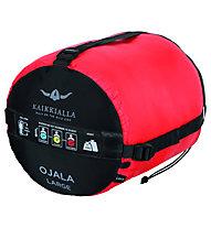 Kaikkialla Ojala - Schlafsack, Blue/Red