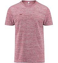 Kaikkialla Riku Man - Wander- und Trekking T-Shirt Herren, Dark Red