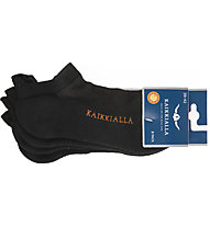 Kaikkialla Salla 2 Pack - calzini corti (2paia), Black
