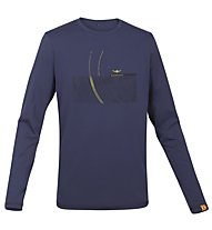 Kaikkialla Seppo Shirt Langarm, Evening Blue