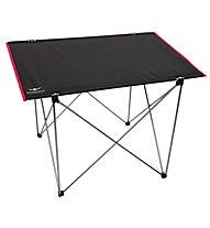 Kaikkialla Table Big - Faltbarer Campingtisch, Black/Red
