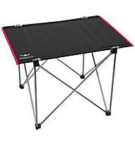 Kaikkialla Table Small - tavolo da campeggio, Black/Red