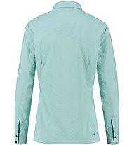 Kaikkialla Taija - camicia a maniche lunghe trekking - donna, Light Blue