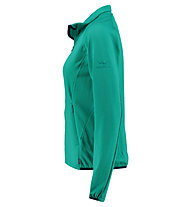 Kaikkialla Talvikki - giacca in pile sport di montagna - donna, Green