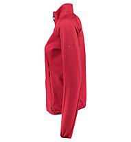 Kaikkialla Talvikki - giacca in pile sport di montagna - donna, Red