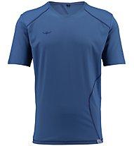 Kaikkialla Tatu S/S Shirt Men - kurzärmeliges Wander-T-Shirt Herren, Blue