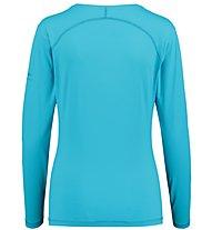 Kaikkialla Tea L/S Shirt Woman - langärmeliges Wander- und Trekkingshirt Damen, Light Blue