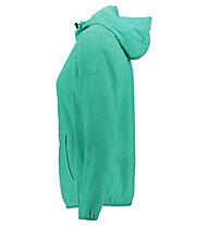 Kaikkialla Tiia Fleece - Fleecejacke mit Kapuze - Damen, Green