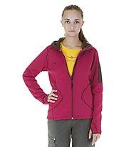 Kaikkialla Tiia Hooded Jacket Wmn, Cerise (Pink)