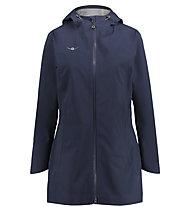Kaikkialla Tilda - giacca hardshell con cappuccio - donna, Blue
