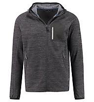 Kaikkialla Timo - giacca con cappuccio trekking - uomo, Grey