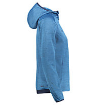 Kaikkialla Tuire powerstretch - Fleecejacke mit Kapuze - Damen, Blue