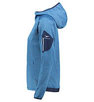 Kaikkialla Tuire powerstretch - giacca in pile con cappuccio - donna, Blue