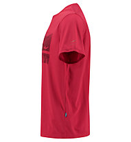 Kaikkialla Uljas - T-Shirt Trekking - Herren, Red