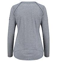 Kaikkialla Ulla - Wander- und Trekkingshirt Langarm - Damen, Grey