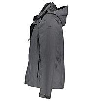 Kaikkialla Urpo - giacca doppia con cappuccio - uomo, Grey