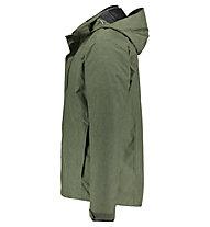 Kaikkialla Urpo - giacca doppia con cappuccio - uomo, Green