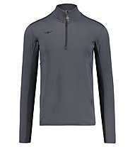 Kaikkialla Usko - maglia con zip - uomo, Grey
