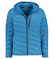 Kaikkialla Valentin - giacca isolante con cappuccio - uomo, Blue