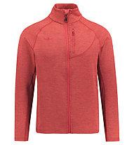 Kaikkialla Valio - giacca in pile - uomo, Red
