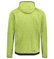 Kaikkialla Valtteri - giacca in pile con cappuccio - uomo, Green