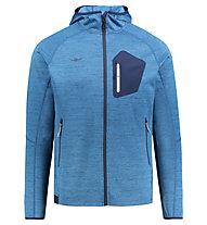 Kaikkialla Valtteri - giacca in pile con cappuccio - uomo, Blue