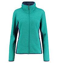 Kaikkialla Vappu - giacca in pile - donna, Green