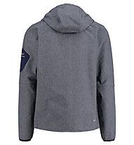 Kaikkialla Veikko - Softshelljacke Bergsport - Herren, Grey