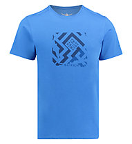 Kaikkialla Veini drirelease - T-Shirt Wandern - Herren, Blue