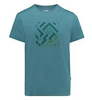 Kaikkialla Veini drirelease - T-Shirt Wandern - Herren, Green