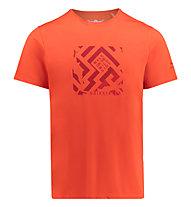 Kaikkialla Veini drirelease - T-Shirt Wandern - Herren, Red