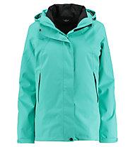 Kaikkialla Venla - giacca hardshell con cappuccio - donna, Green