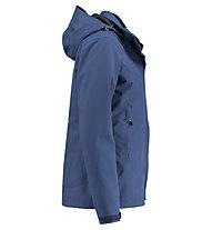 Kaikkialla Venla - giacca hardshell con cappuccio - donna, Blue