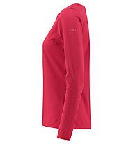 Kaikkialla Vienna - Langarmshirt - Damen, Red