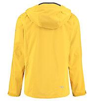 Kaikkialla Viljami - giacca hardshell con cappuccio - uomo, Yellow