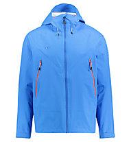 Kaikkialla Viljo - giacca hardshell con cappuccio - uomo, Light Blue