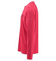 Kaikkialla Ville - Wander- und Trekkingshirt Langarm - Herren, Red