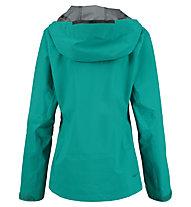 Kaikkialla Viola - giacca hardshell - donna, Green