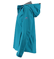 Kaikkialla Viola - giacca hardshell - donna, Blue