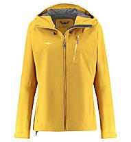 Kaikkialla Viola - giacca hardshell - donna, Yellow