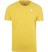 Kappa 222 Banda Coen Slim - T-shirt - Herren, Yellow/White