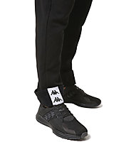 Kappa 222 Banda - pantaloni lunghi fitness - uomo, Black/White