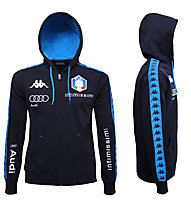 Kappa FISI Fleecejacke, Blue Nights