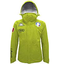 Kappa 6 Cento 650 A FISI - giacca da sci - uomo, Green