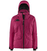 Kappa 6Cento 612 - giacca da sci - donna, Pink