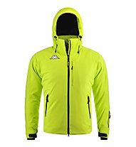 Kappa 6Cento 650 Skijacke, Green Lime