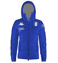 Kappa 6Cento 666 FISI - giacca da sci - donna, Light Blue