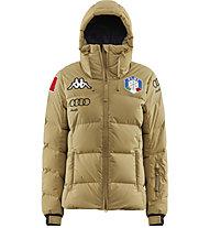 Kappa 6Cento 666 FISI - giacca da sci - donna, Light Brown